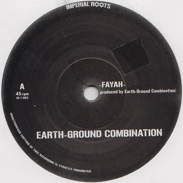 EARTH GROUND COMBINATION