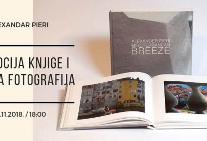 Promocija knjige i izložba fotografija Alexandra Pierija