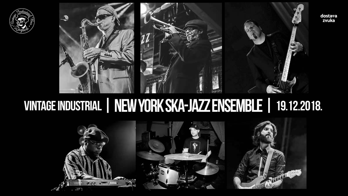 New York Ska-Jazz Ensemble / Vintage Industrial / 19.12.