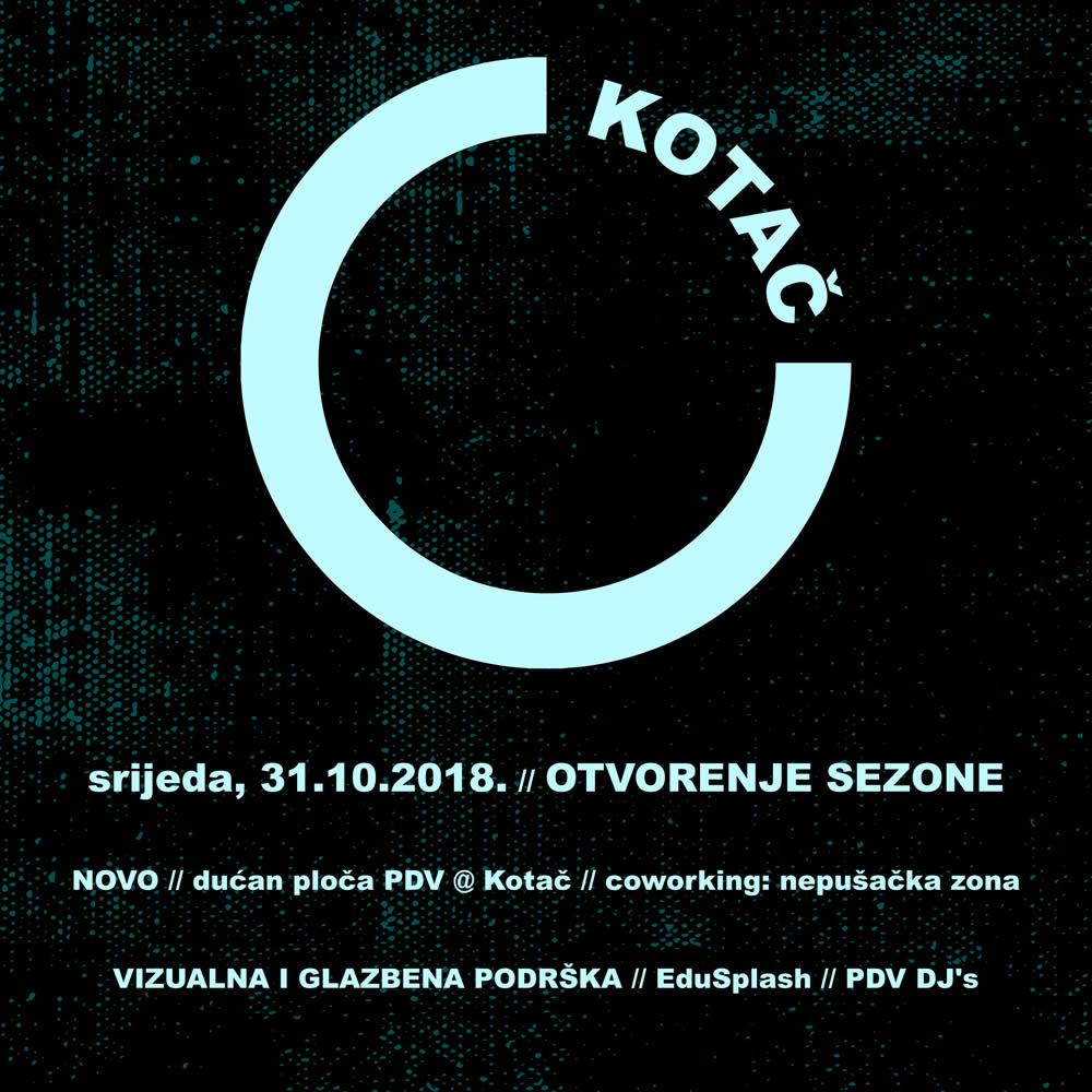 Novi dućan ploča i 5 godina PDV-a u klubu Kotač