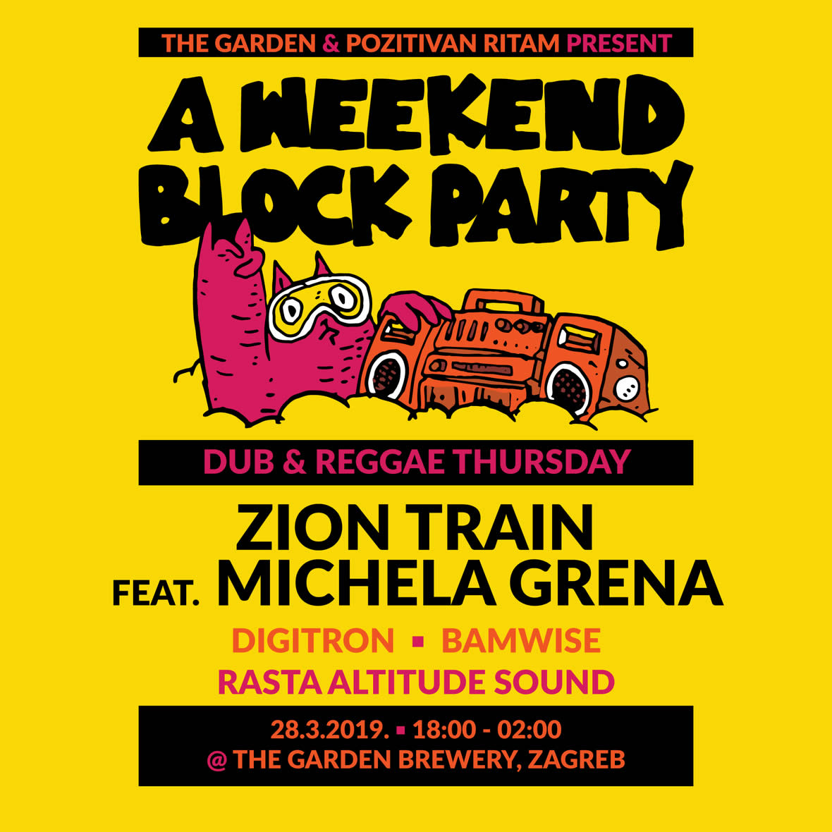 Zion Train, velikani duba slave 30 godina na A Weekend Block Partyju