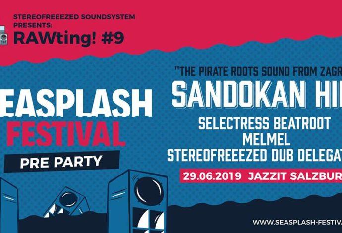 RAWting! #9: Seasplash Pre Party