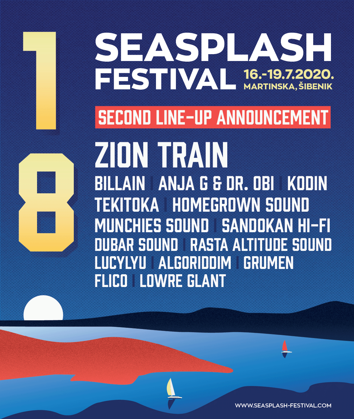 Seasplash 2020 - Second Line-Up Announcement