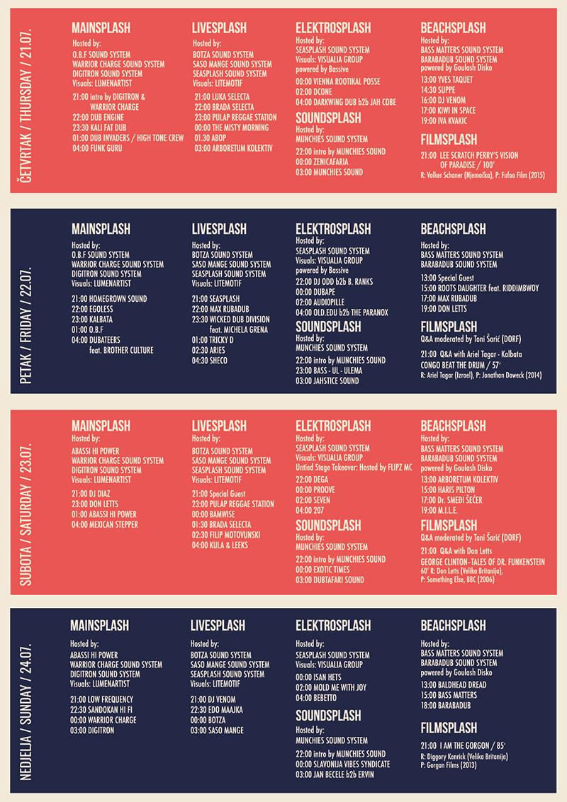 Provjerite raspored po danima i satnicu 14. Seasplash festivala [+dijelimo upade] 1