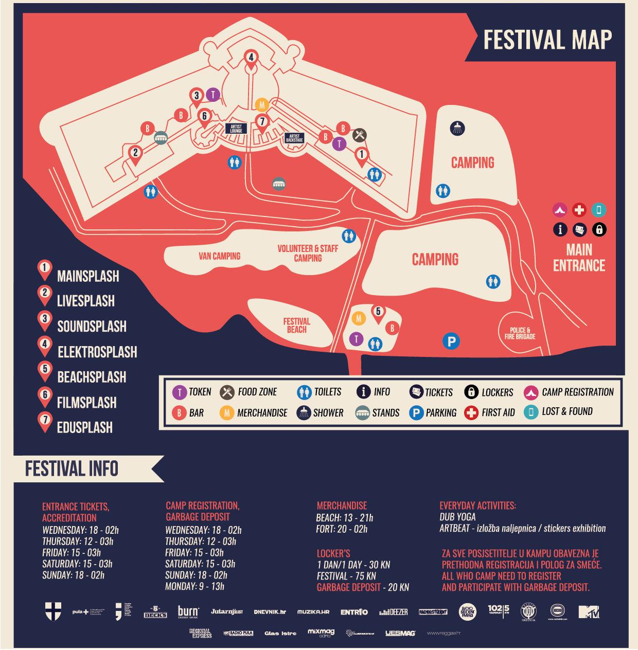 Provjerite raspored po danima i satnicu 14. Seasplash festivala [+dijelimo upade] 2
