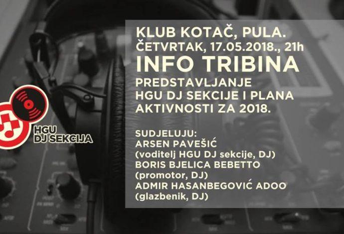 HGU tribina + clubbing
