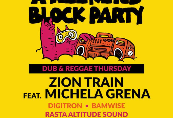 Zion Train, velikani duba slave 30 godina na A Weekend Block Partyju