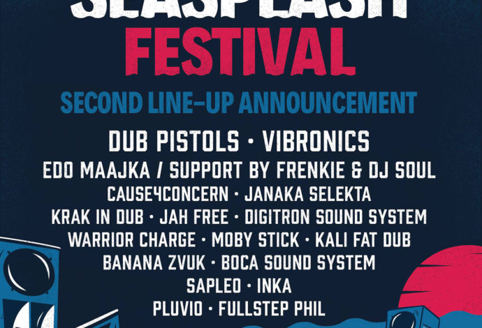Seasplash 2019 - 2nd Line-up Announcement