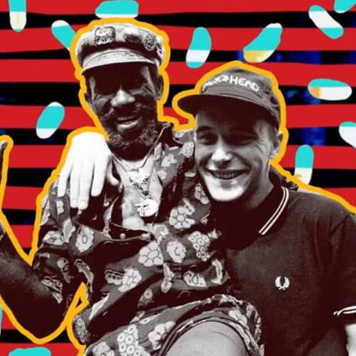 Lee Scratch Perry and Adrian Sherwood
